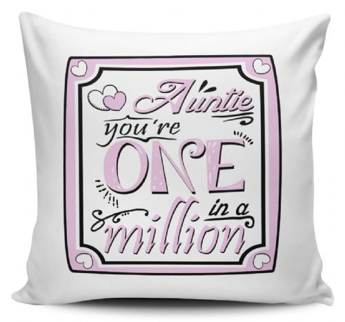 You're One In A Million Novelty Cushion Cover Variation - PINK
